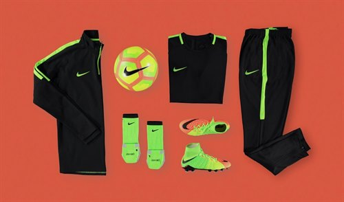 Get the New Nike Academy Training Range at Sports Direct