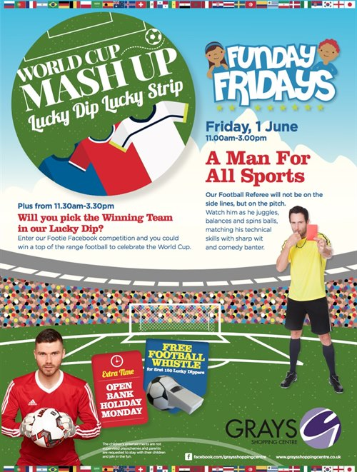 Football Fever Comes to Grays
